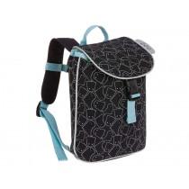 Lässig Mini Duffle Backpack SPOOKY black