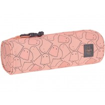 Lässig round school pencil case SPOOKY apricot