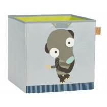 Lässig toy storage cube meerkat