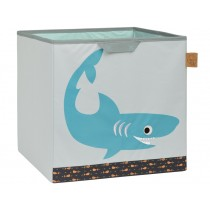 Lässig toy storage cube shark