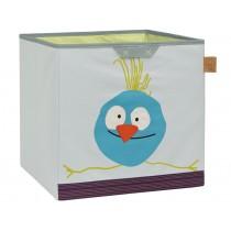 Lässig toy storage cube birdie