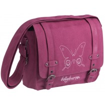 Mini Messenger Bag Butterfly in berry by Lässig