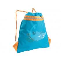 Lässig mini string bag Shark ocean