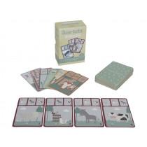 Little Dutch Card Game Quartet ANIMALS