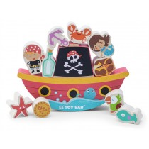 Le Toy Van Pirate Balance 'Rock 'n' Stack'
