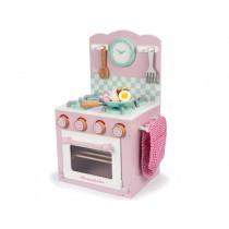 Le Toy Van Oven & Hob Set pink