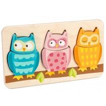 Le Toy Van Owl 2 piece puzzle