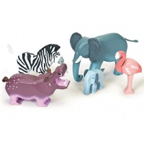 Le Toy Van Zambezi Wild Animal Set