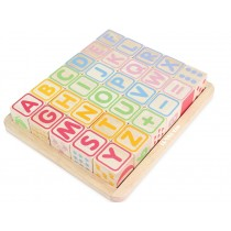 Le Toy Van Wooden Blocks ABC