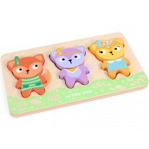 Le Toy Van 2-piece-puzzle LITTLE FOX