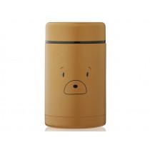 LIEWOOD Thermos Food Jar Bernard 500ml BEAR golden caramel