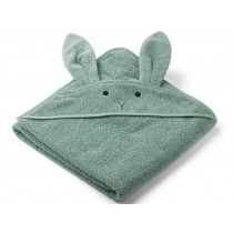 LIEWOOD Hooded Towel AUGUSTA Rabbit peppermint