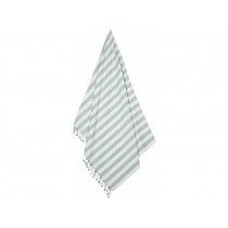 LIEWOOD Beach Towel MONA Stripe: Sea blue/creme de la creme