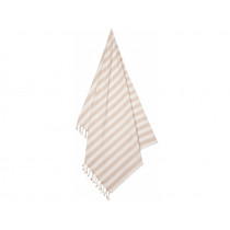 LIEWOOD Beach Towel MONA Stripe: Sorbet rose/creme de la creme