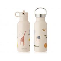 LIEWOOD Water Bottle Neo SAFARI sandy mix