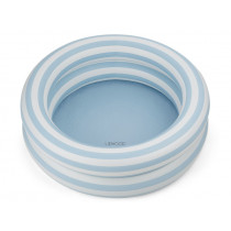 LIEWOOD Pool LEONORE Stripe: Sea blue/creme de la creme