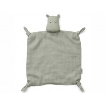LIEWOOD Cuddle Cloth Agnete HIPPO dove blue