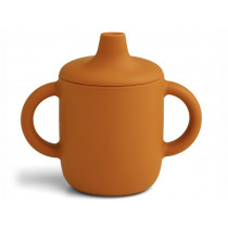 LIEWOOD Silicone Sippy Cup NEIL mustard