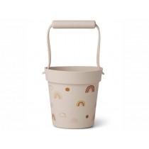 LIEWOOD Silicone Bucket Linda RAINBOW love sandy