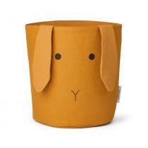 LIEWOOD Storage Basket Ella BUNNY mustard