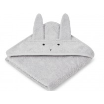 LIEWOOD Hooded Towel Baby Albert BUNNY grey