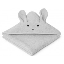 LIEWOOD Hooded Towel Augusta BUNNY grey