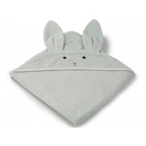 LIEWOOD Hooded Towel Augusta BUNNY mint