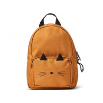 LIEWOOD Kids Mini Backpack Saxo CAT mustard 1-3