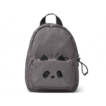 LIEWOOD Kids Mini Backpack Saxo PANDA dark grey 1-3