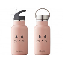 LIEWOOD Water Bottle Anker CAT old rose
