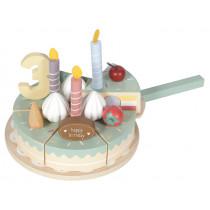 Little Dutch Wooden BIRTHDAY CAKE