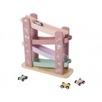 Little Dutch wooden race course pink