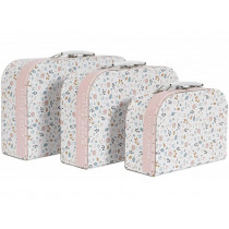 Little Dutch suitcase set SPRING FLOWERS