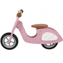 Little Dutch wooden scooter PINK