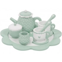 Little Dutch wooden tea set SOFT MINT