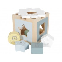Little Dutch Sorter Box ZOO blue