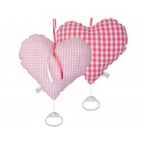 Little Dutch music box heart pink checks