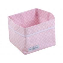 Little Dutch baby storage basket pink small