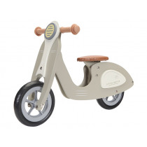 Little Dutch Wooden Scooter OLIVE GREEN