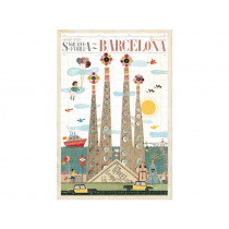 Londji Puzzle BARCELONA (200 Pieces)