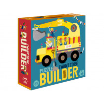 Londji Puzzle I Want To Be BUILDER (36 Pieces)