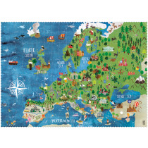 Londji Puzzle DISCOVER EUROPE (200 Pieces)