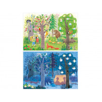 Londji Puzzle Night & Day in THE FOREST (54 Pieces)