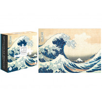 Londji Puzzle Hokusai THE WAVE (1000 Pieces)
