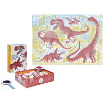 Londji Puzzle DISCOVER THE DINOSAURS (200 pieces)