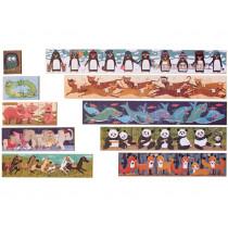 Londji Puzzle 10 PENGUINS (1+2+3+4...+10 Pieces)