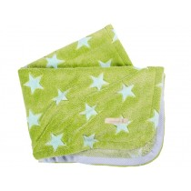 Lottas Lable blanket stars green