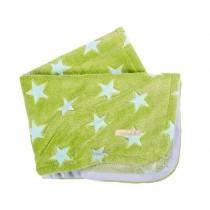 Lottas Lable blanket stars green