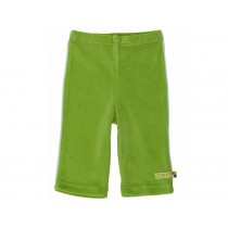 loud + proud trousers soft velours green