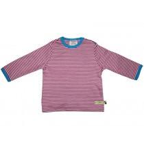 loud and proud Shirt stripes fuchsia